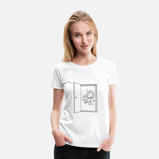 Outdoor T-Shirts - Outdoor - Women's Premium T-Shirt white