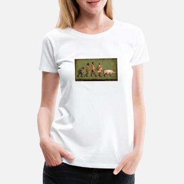 Evolution Evolution - Frauen Premium T-Shirt