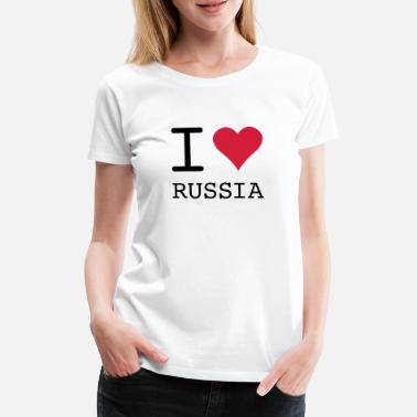 Nutcracker I LOVE RUSSIA - Women's Premium T-Shirt