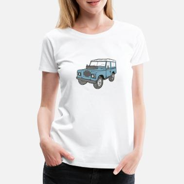 Land Landy Landie 4x4 Off Road Series 3 - Frauen Premium T-Shirt