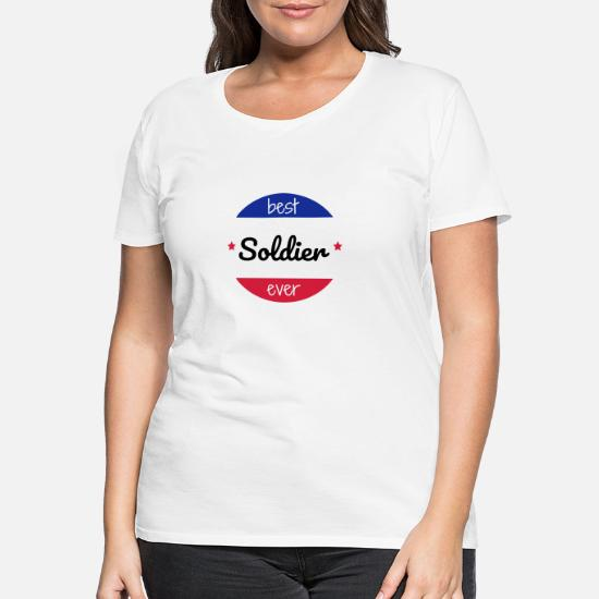 7f30e89c21573 Militaire / Soldat / Armée / Tank T-shirt premium Femme | Spreadshirt
