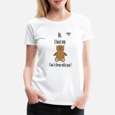 Pickup Line Teddy Pickup Line - Women's Premium T-Shirt
