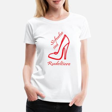 Pack Animals red shoes pack animals - Women's Premium T-Shirt