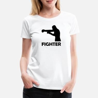 Boxhandschuhe fighter - Frauen Premium T-Shirt