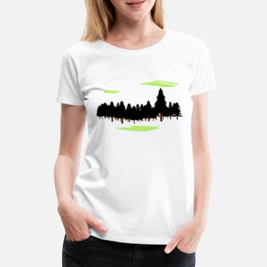Forester Forest Forest - Women's Premium T-Shirt