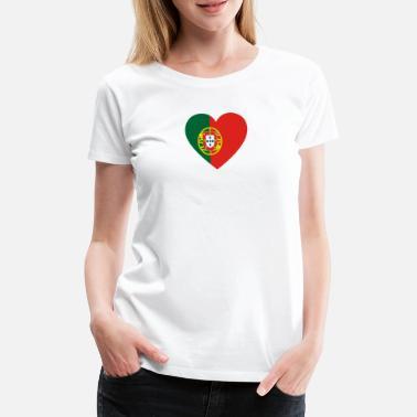 223914f71f Portugal Portugués Amor amor regalo portugués PORTUGAL - Camiseta premium  mujer