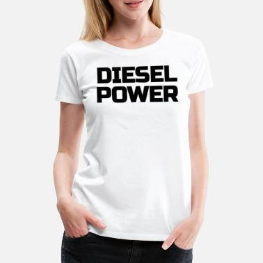 Kings Skull Diesel Power Diesels Roll Coal Roll Coal Trucker - Women's Premium T-Shirt