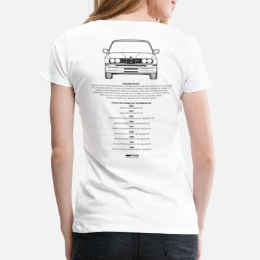BMW M Town E30 M3 - Women's Premium T-Shirt