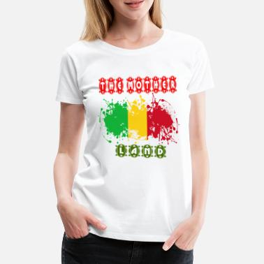 Land Mass The Mother Land - Women's Premium T-Shirt