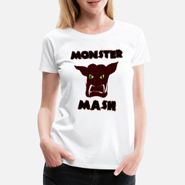 Monster Hoved Monster hoved - Dame premium T-shirt