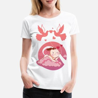 Maternity Clothing Sweet maternity clothes pregnancy T-shirt girl - Women's Premium T-Shirt