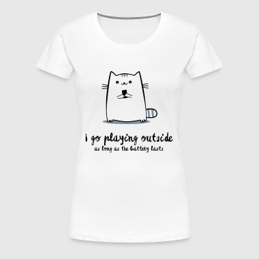 playing outside - Women's Premium T-Shirt