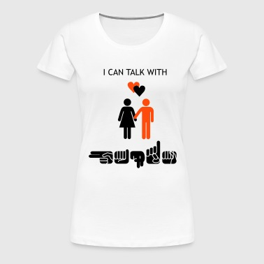 Deaf Love - Frauen Premium T-Shirt