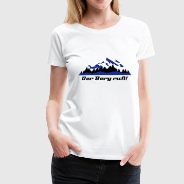 Berge, Winter, Alpen, Lanschaft - Frauen Premium T-Shirt