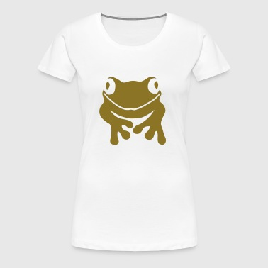 frog toad squib paddock pout frogmouth - Women's Premium T-Shirt