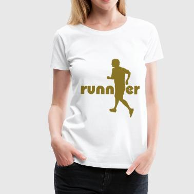 Runner / Läufer - Frauen Premium T-Shirt