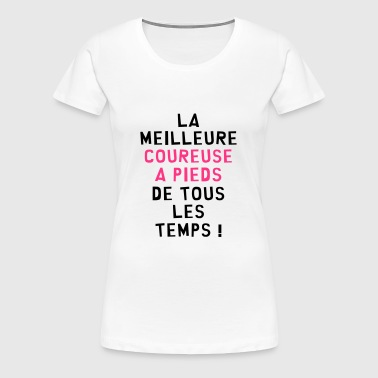 Course à pied / Coureur / Jogging / Running / Run - T-shirt Premium Femme
