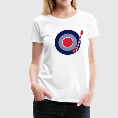 Vinyl Mod Sign - Women's Premium T-Shirt