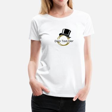 Ring Eheringe Ehering / wedding ring (2c) - Frauen Premium T-Shirt