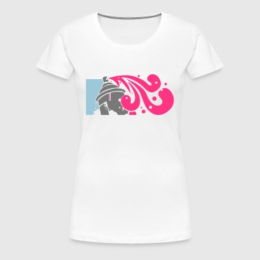 spray - Frauen Premium T-Shirt