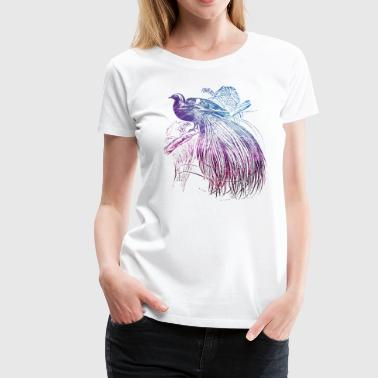 Paradis bird - Women's Premium T-Shirt