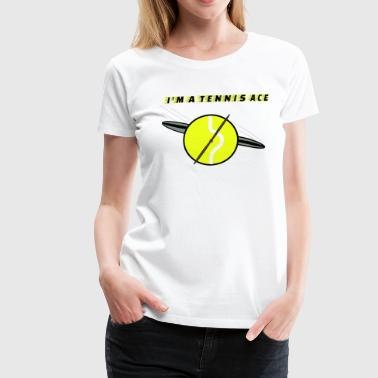 Tennis ace - Frauen Premium T-Shirt