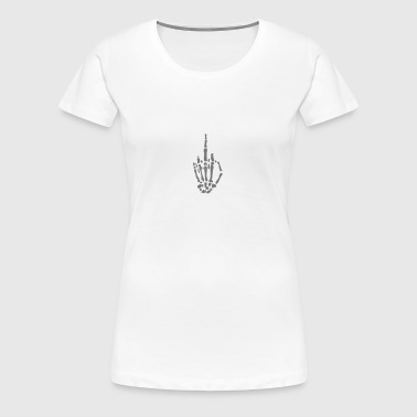 fuck you - Dame premium T-shirt