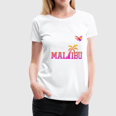 Space Atlas Ladies T-Shirt Malibu - Dame premium T-shirt