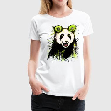 David Pucher Art Kiwipanda - Vrouwen Premium T-shirt
