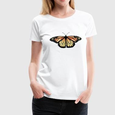 Monarch Butterfly - Premium T-skjorte for kvinner