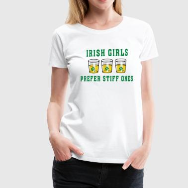 Irish Girls Prefer Stiff Ones - Women's Premium T-Shirt