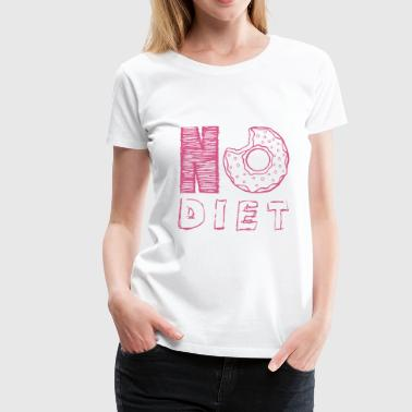 NO DIET - Women's Premium T-Shirt