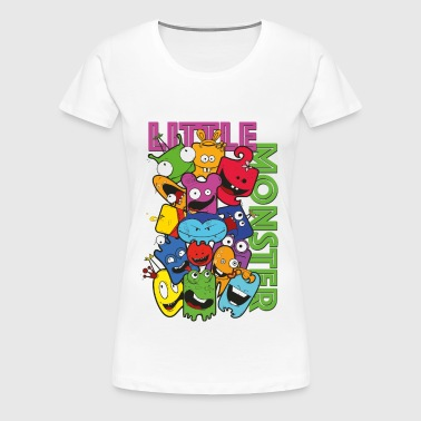 little monster - kleine Monster - Frauen Premium T-Shirt