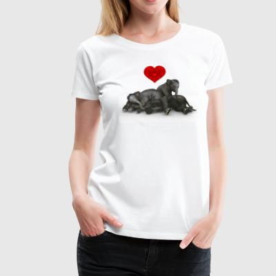 Elephant Children - Women's Premium T-Shirt