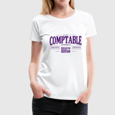 accounting - Women's Premium T-Shirt