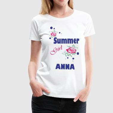 Summer Girl ANNA - Women's Premium T-Shirt