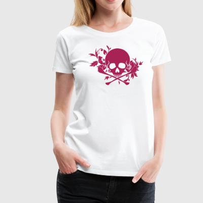 Skull ornament - Women's Premium T-Shirt