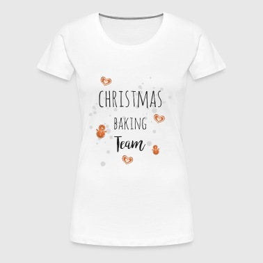 christmas baking team - Women's Premium T-Shirt