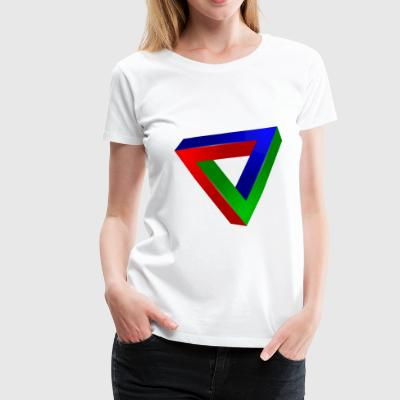 Impossible triangle - T-shirt Premium Femme