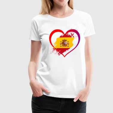 I LOVE SPAIN COLLECTION - Women's Premium T-Shirt