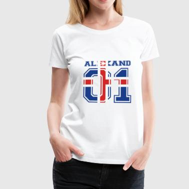 home roots name iceland island ALEXANDRA - Women's Premium T-Shirt