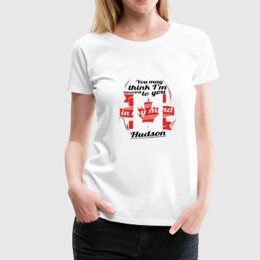 HOLIDAY HOME ROOTS TRAVEL Canada Canada Hudson - Women's Premium T-Shirt
