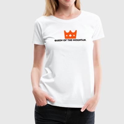 QOM QUEEN OF THE MOUNTAIN - Women's Premium T-Shirt