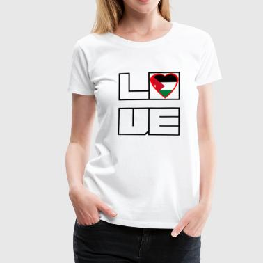 Love Land Roots Jordanien - Frauen Premium T-Shirt