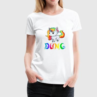 Unicorn dung - Women's Premium T-Shirt