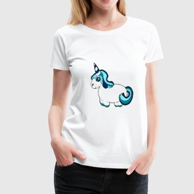 unicorn ice cream - Vrouwen Premium T-shirt