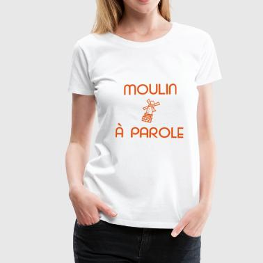 Orange logo - Frauen Premium T-Shirt