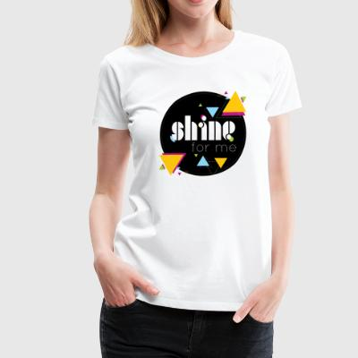 Shinee - shine for me - Women's Premium T-Shirt