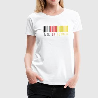 MADE IN GERMANY BARCODE - Frauen Premium T-Shirt