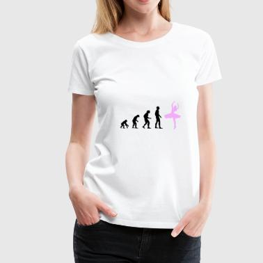 Ballerina evolution - Women's Premium T-Shirt